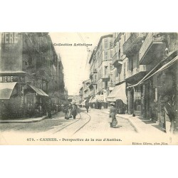 06 CANNES. Commerces rue d'Antibes