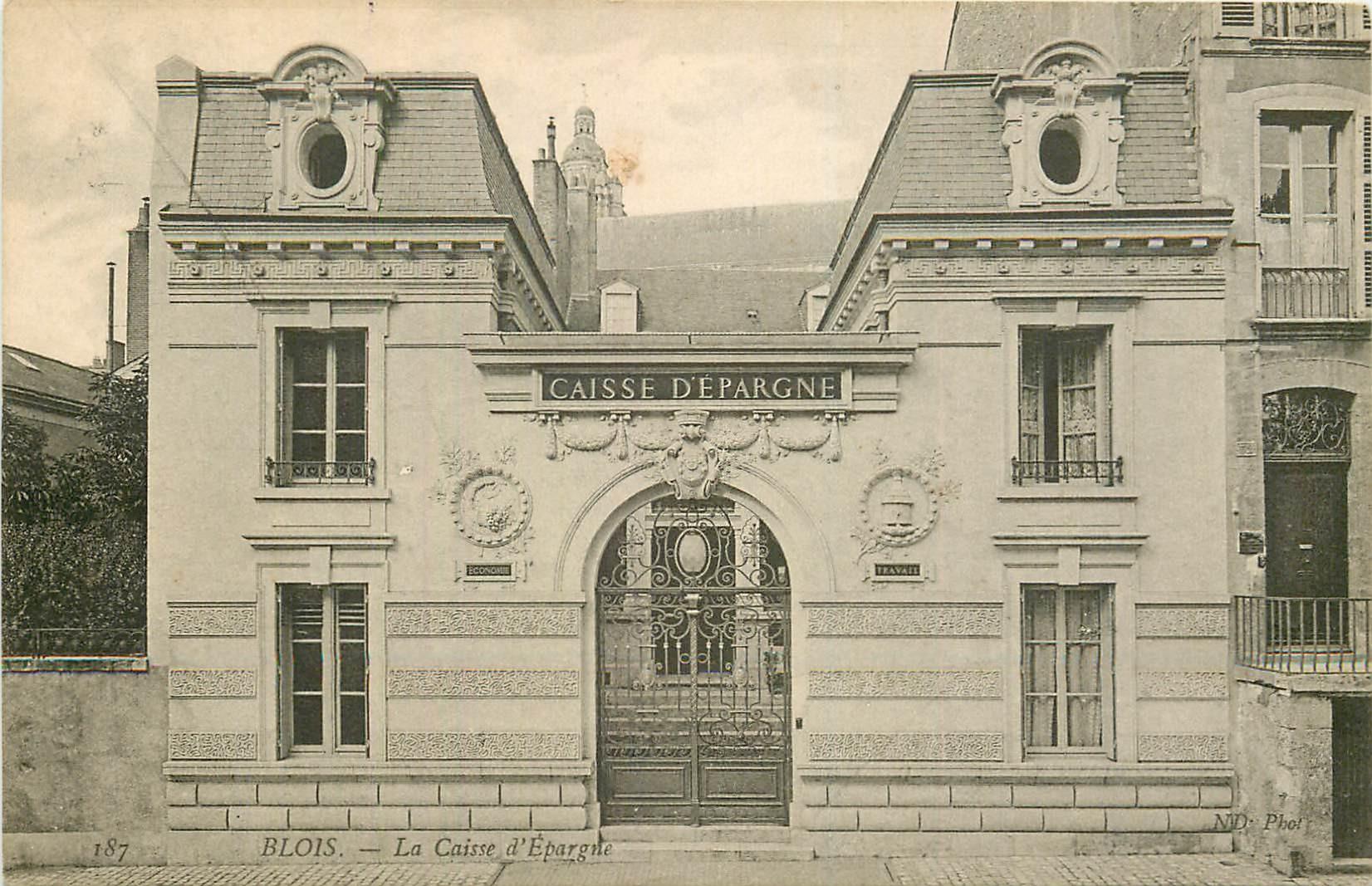 41 BLOIS. Banque la Caisse d'Epargne