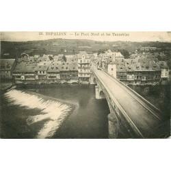 12 ESPALION. Les Tanneries près du Pont Neuf 1926