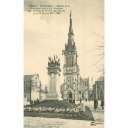 45 ORLEANS. Saint-Marceau. Eglise et Monument des Enfants morts en 1914-18