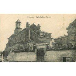 carte postale ancienne 14 LISIEUX. Eglise Saint-Désir