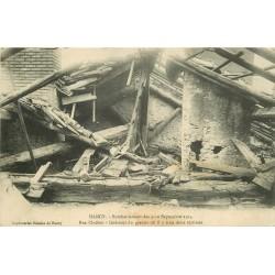 54 NANCY. Un Grenier rue Clodion bombardé vers 1914