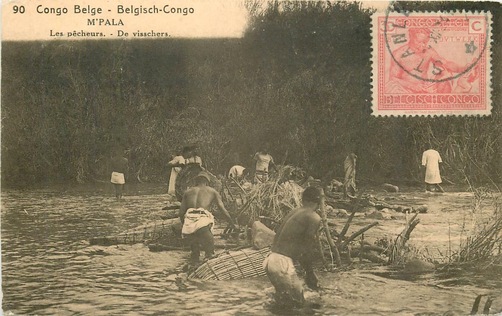 CONGO BELGE. M'Pala. Les Pêcheurs 1925