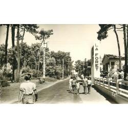 Photo Cpsm 17 SAINT-TROJAN. Boulevard Pierre-Wiehn sur Ile d'Oléron 1960