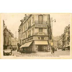 41 BLOIS. Commerce Serpette rues Denis Papin et du Commerce avec agent de Police 1940