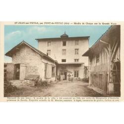 01 SAINT-JEAN-SUR-VEYLE. Moulin de Chatan