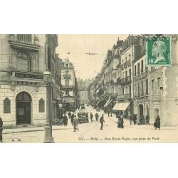 41 BLOIS. Banque Régionale de l'Ouest rue Denis Papin vers 1923