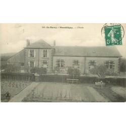 2 x Cpa 18 HUMBLIGNY. Ecole et Eglise 1910