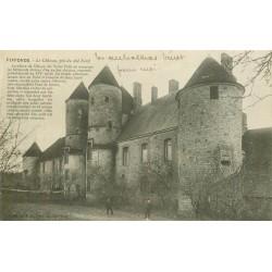 89 PIFFONDS. Le Château 1915 animation