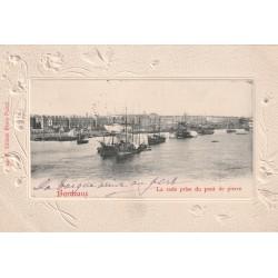 33 BORDEAUX. Bateau de Pêche dans la Rade du Port 1903