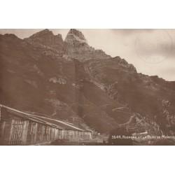 SUISSE. Riondaz et la Dent de Morcles 1914