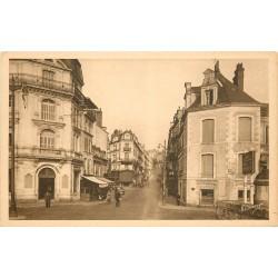 41 BLOIS. Agent de Police et Banque rue Denis-Papin