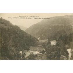 25 CONSOLATION. Vallée de Dessoubre 1919