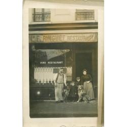 PARIS XVIII. Café Restaurant Ringuet 155 rue Championnet