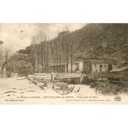 26 CHÂTILLON-EN-DIOIS. Pont sur le Béz