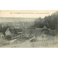 27 LA VACHERIE-SUR-HONDOUVILLE. Vue sur le Village 1931