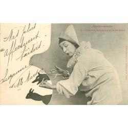 BERGERET. Ombromanie 1902 Pierrot, le Lièvre et le Renard