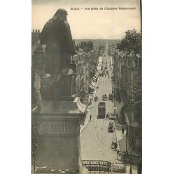 41 BLOIS. Vue prise de l'Escalier Monumental et Statue Denis-Papin
