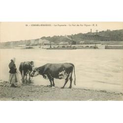 91 CORBEIL-ESSONNES. Les Papeteries et le Port des Bas-Vignons