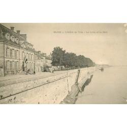 41 BLOIS. L'Hôtel de Ville, Loire et Mail vers 1900