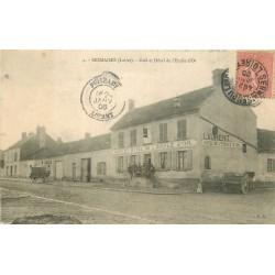 45 SERMAISES. Café Hôtel de l'Etoile d'Or 1906
