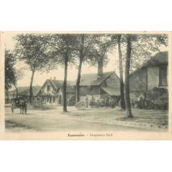 91 ESSONNES. Ouvriers devant la Briqueterie Petit 1907