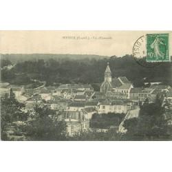 78 SEPTEUIL. Vue sur la Ville 1923