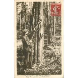 33 TAUSSAT-LES-BAINS. Le Gommeur dans les Landes 1938
