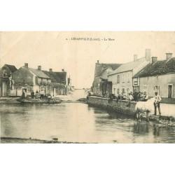 45 CESARVILLE. Cheval dans la Mare 1909