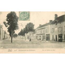 77 BEAUMONT-EN-GÂTINAIS. Rue Hôtel de Ville 1907