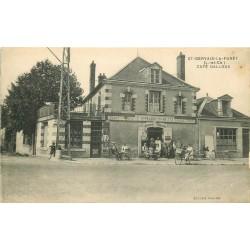 41 SAINT-GERVAIS-LA-FORÊT. Café Tabac Galloux