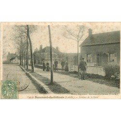 77 BEAUMONT-DU-GÂTINAIS. Maison Seigneuret Avenue de la Gare 1907