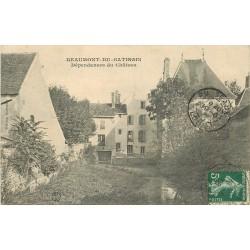 77 BEAUMONT-DU-GÂTINAIS. Dépendances du Château 1908