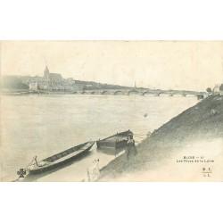 41 BLOIS. Jeune Chevrière sur les Rives de la Loire vers 1907