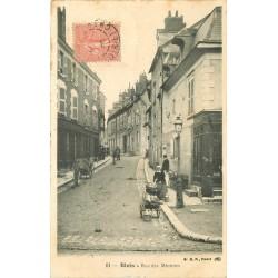 41 BLOIS. Laitière livreuse de lait rue des Minimes 1906