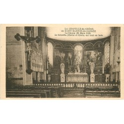 53 SAINT-MARTIN-DE-CONNEE. Crucifix Chapelle du Chêne