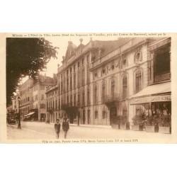 3 x Cpa 71 MACON. Hôtel de Ville 1952, attelage Boeufs et Porteurs de Vendange