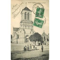 76 SAINT-SAËNS. Eglise 1913