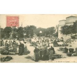 41 BLOIS. Le Marché aux Légumes 1906