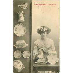 87 LIMOGES. Porcelaines en Faïence 1904