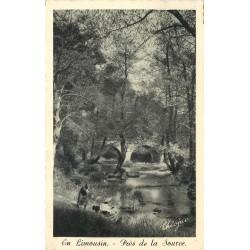 86 LA SOURCE. Lavandière 1951