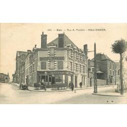 """41 BLOIS. Hôtel Rabier Tabac """" Aux Côtes de Touraine """" rue Poulain 1934"""