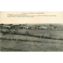 71 FLACE-LES-MACON. Le Village 1917
