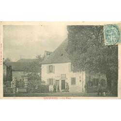 01 CEYZERIEU. La Mairie sur la Place 1906