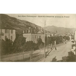 04 BARCELONNETTE. Avenue de France