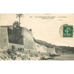 2 x cpa 06 VILLEFRANCHE-SUR-MER. Citadelle 1913 et vue 1910
