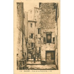 06 GRASSE. Rue de la Fontette 1931