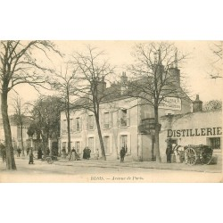 41 BLOIS. Distillerie Mesnil avenue de Paris
