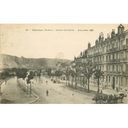 26 VALENCE. Attelage de charbons Avenue Gambetta 1916