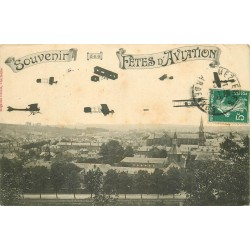 08 CHARLEVILLE. Souvenir des Fêtes d'Aviation 1910